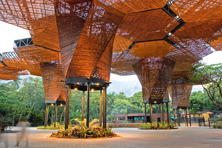 The Orchideorama of the botanical garden. Photo: Arquitetônico