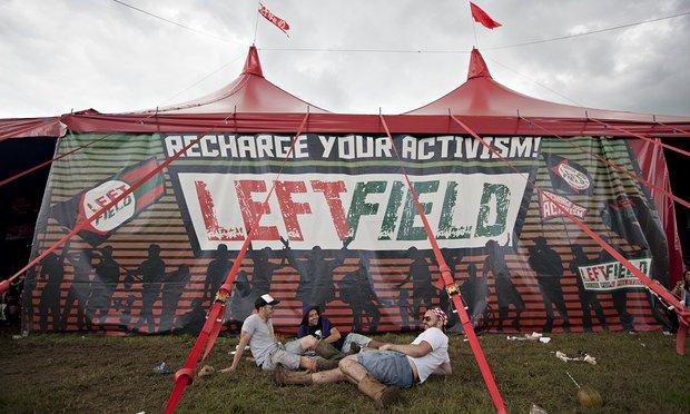 Movimientos' Leftfield stage, Glastonbury festival