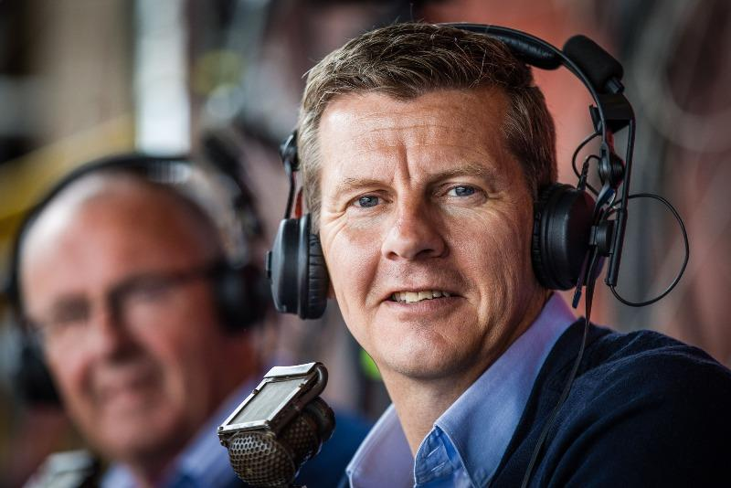 BBC sports commentator Steve Cram.