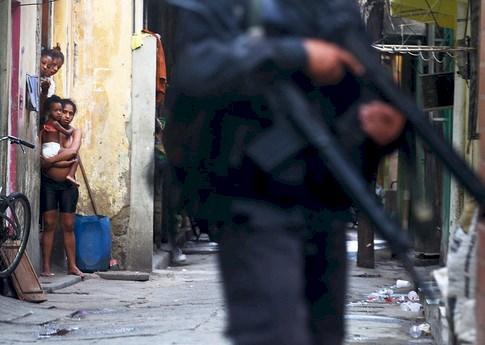 Police violence in Rio's favelas