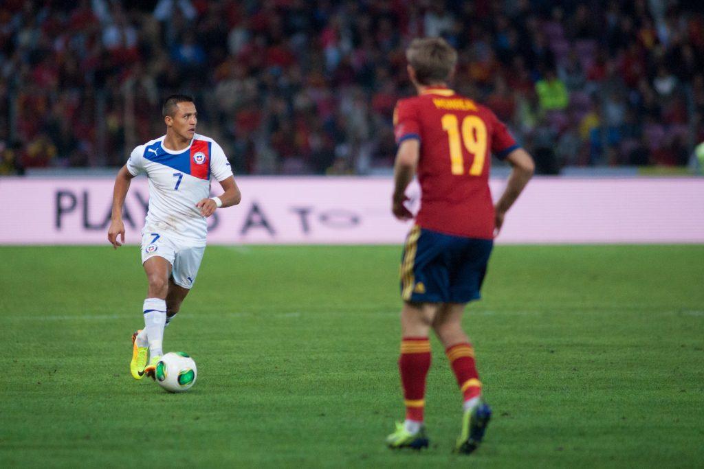 Spain vs. Chile, 10th September 2013
