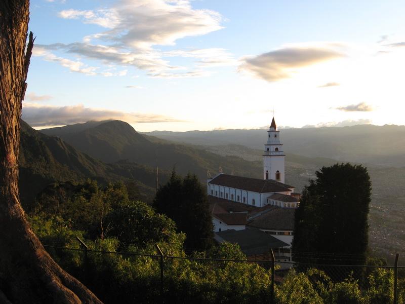 Montserrate, an incredible vista