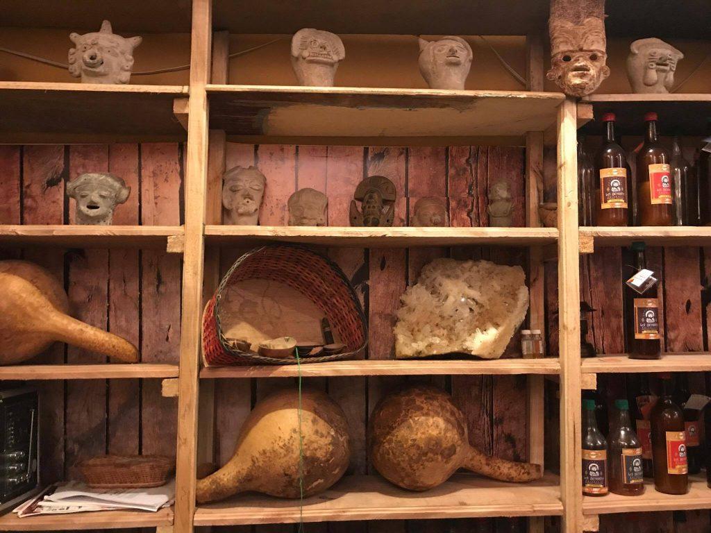 Totumas, drinks and pre-columbian artefacts in Alfredo Ortiz's Chicha Museum