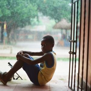 Niño de Palenque, San Basilio de Palenque. August 2017